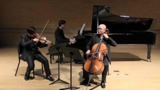 """Voertman Piano Trio playing Dvorak Piano Trio No.4 """"Dumky"""" 2 mov"""