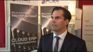 ERP aus der Cloud? Chancen und Risiken für Unternehmen: Thomas Rosenstiel, Plex Systems