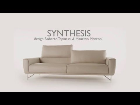 grand canap 3 places synthesis roche bobois - Canape Roche Bobois Cuir