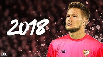 Tomas Vaclik 2018 - Welcome to FC Sevilla | Best Saves / Reflexes