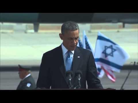 Obama Pledges 'unwavering Support' For Israeli Security