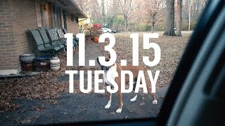 So Good to Be Home // 11.3.15 Daily Vlog in 4K