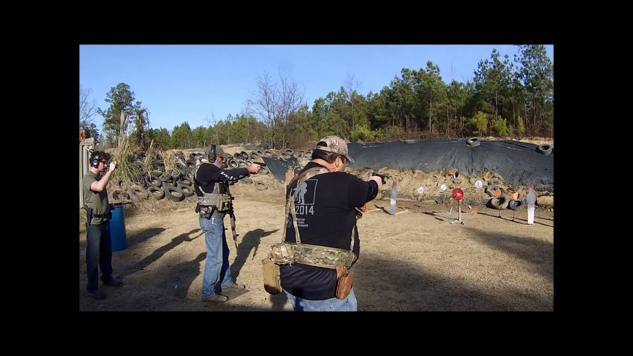 3 Gun Shoot Off With Me And Big Guy, Range 37 PSR