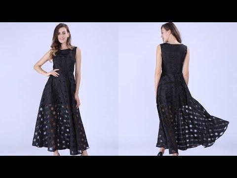 Одежда с AliExpress. Короткое облегающее платье украшенное бисером 2018.из YouTube · Длительность: 1 мин35 с