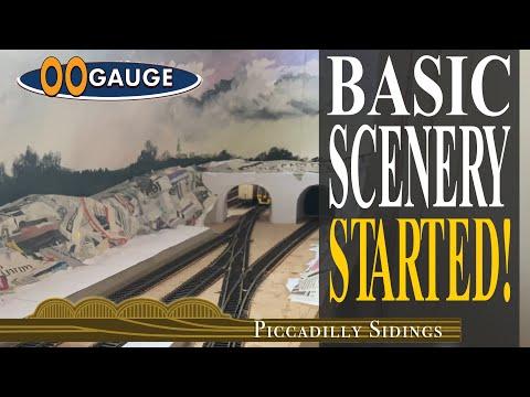 OO Gauge BASIC SCENERY – STARTED!