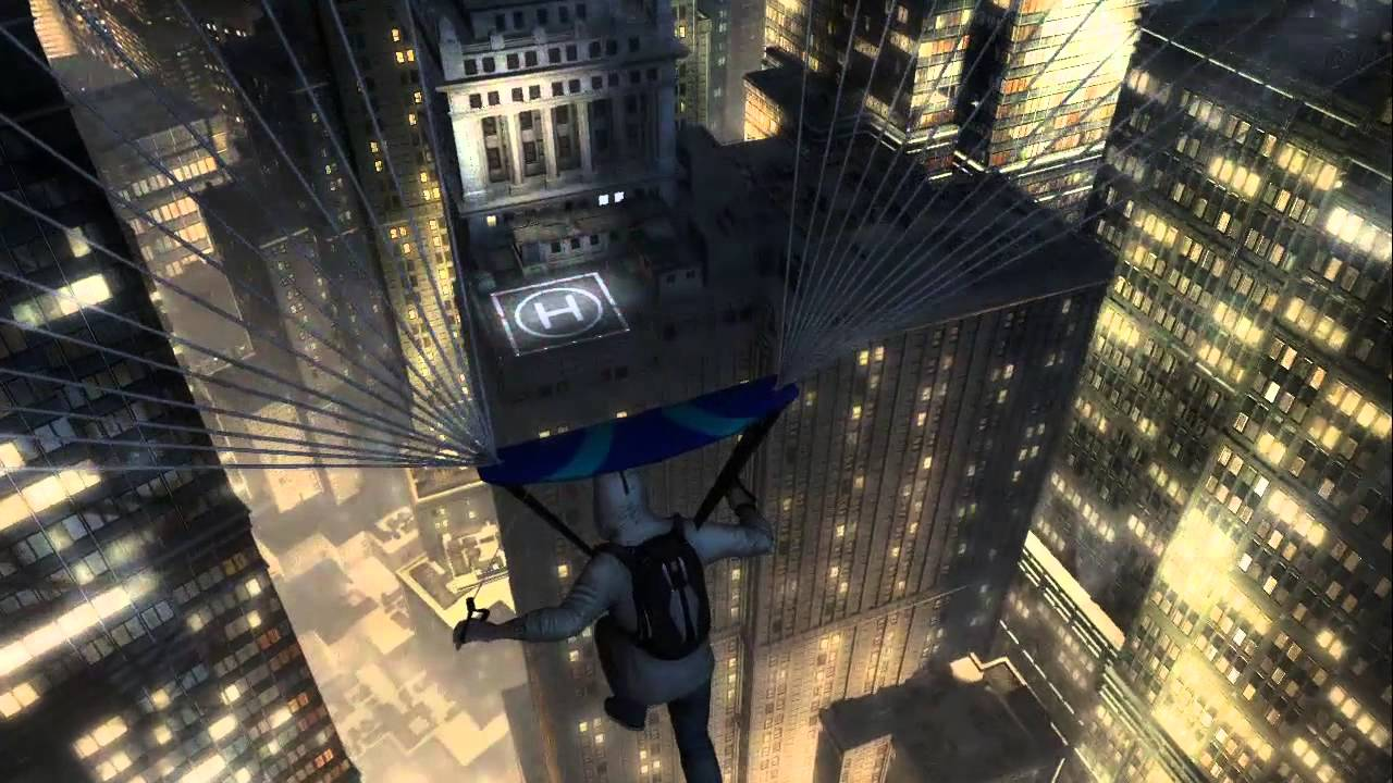 Assassins Creed III - Desmond's Leap Of Faith - YouTube
