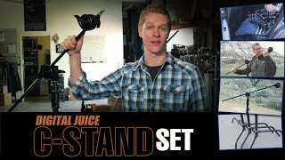 Digital Juice C - Stand Set - Heavy Duty Grip Stand Equipment for Photo, Video Studio