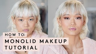 MONOLID MAKEUP TUTORIAL | FENTY BEAUTY