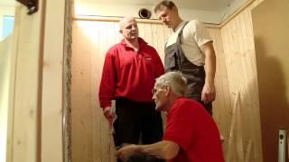 BAUHAUS TV - DIE WENDES Handwerker mit Herzblut - Folge 7: Projekt Sauna