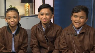 The TNT Boys of 'World's Best' spoke with ET about being surprised by Ariana Grande while performing on 'The Late Late Show With James Corden.' 'World's ...