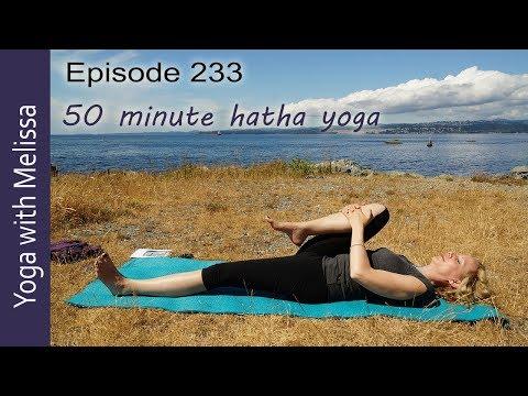 Surya Namaskar Sun Salutation Yoga, Guru Mantra, 50 min, Yoga Stories 2, Yoga with Melissa 233