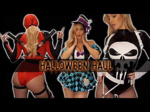 👻 HUGE HALLOWEEN COSTUME TRY ON HAUL 🎃 STARLINE • YANDY • DOLLSKILL 👻