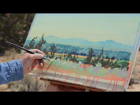 Preview   Painting en Plein Air: Mountain View with Stephen Quiller
