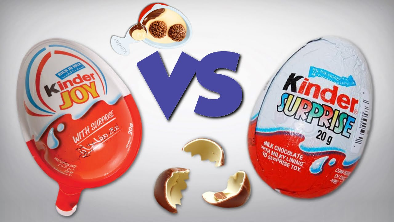 Kinder Egg Vs Kinder Joy Differences Between Kinder Surprise Kinder Joy Chocolate