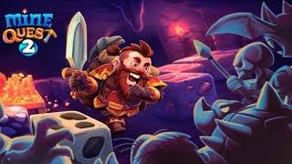 Mine Quest 2 Моё Приключение Знакомство с игрой Обзор и Первые впечатления Игровой Мульт Let's Play