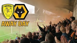 GOALS GALORE! Wolves Away Day Vlog VS Burton Albion!