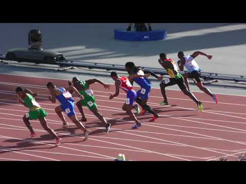 100m H6 Henricho Bruintjies 10.23 +1.6 Gold Coast 2018