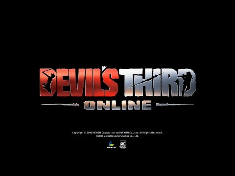 Devil's Third Online PC Multiplayer Japan Closed Beta Trailer