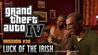 GTA 4 - Mission #30 - Luck of the Irish (1080p)