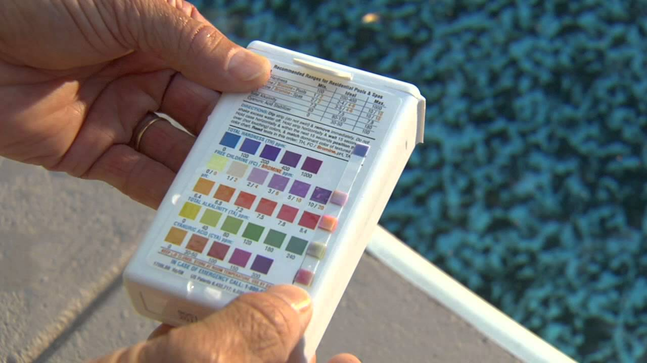 How To Use Hth Test Strips By Pool Care