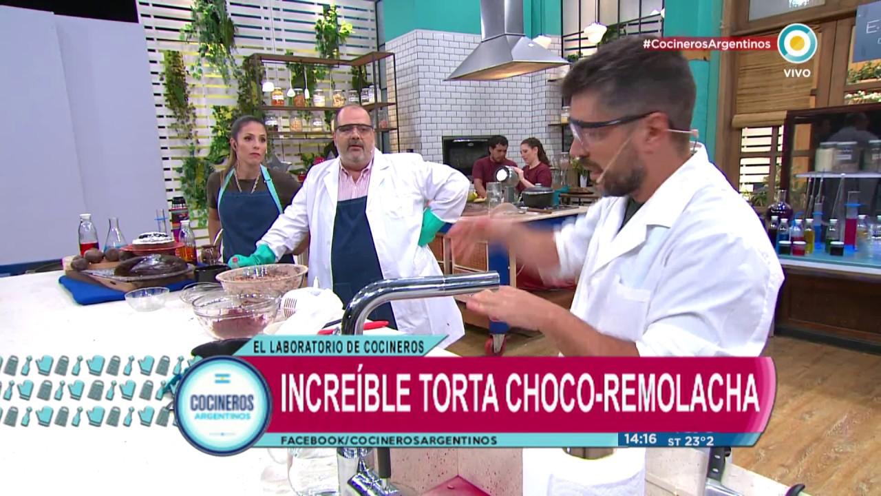 Super torta de Choco-Remolacha en Cocineros Argentinos