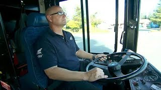 Driver Gets Strange Feeling About Boy On Bus. Then He Looks At His Feet And Sees It
