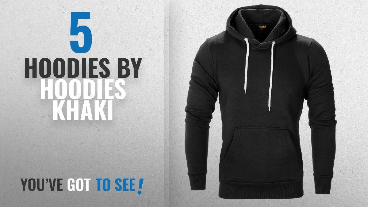 4afaa5a589d6 Top 10 Hoodies Khaki Hoodies  2018   Raiken® Apparel Flex Fleece ...