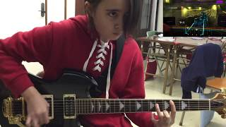Testing the new guitar from Mr.K. AWESOME!! Thanks so much for watc...
