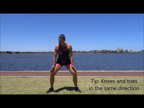 Save your knees: check your alignments!