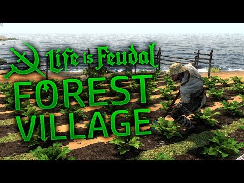 Life is Feudal Forest Village - Clothes, Tools, Farming & Housing - LiF Forest Village Gameplay
