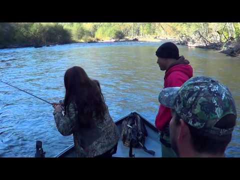 Salmon Fishing Klickitat River Washington State