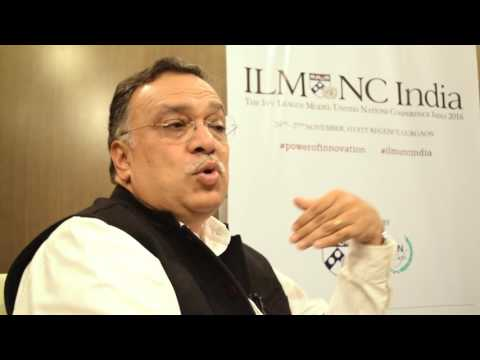 ILMUNC India 2016 - Interview with Dr. Pramath Raj Sinha from Ashoka University