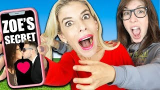 Going Through My Ex Best Friend Zoe's Camera Roll to Reveal Secret Crush! | Rebecca Zamolo