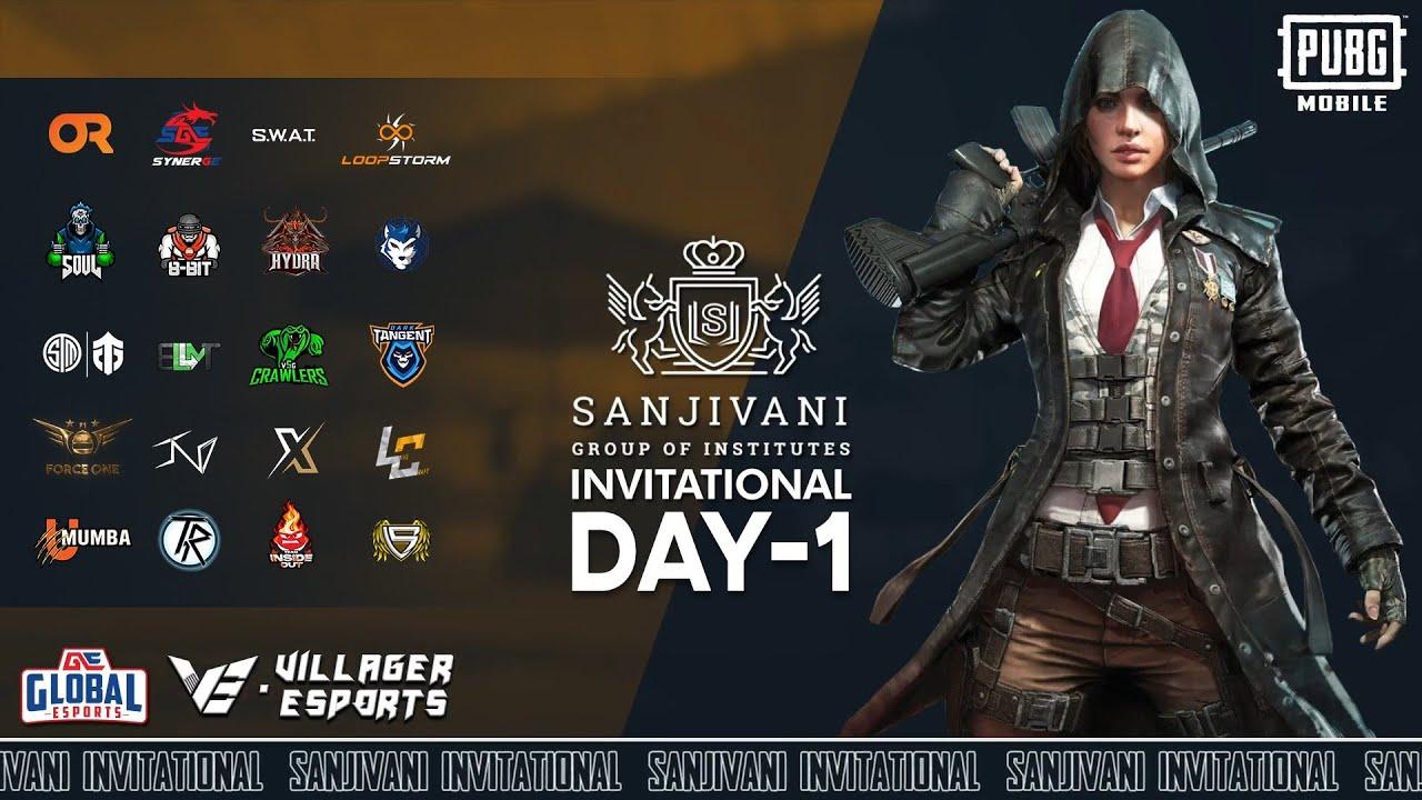 Sanjivani PUBG Mobile Invitational • Day 1 • Global Esports x Villager Esports