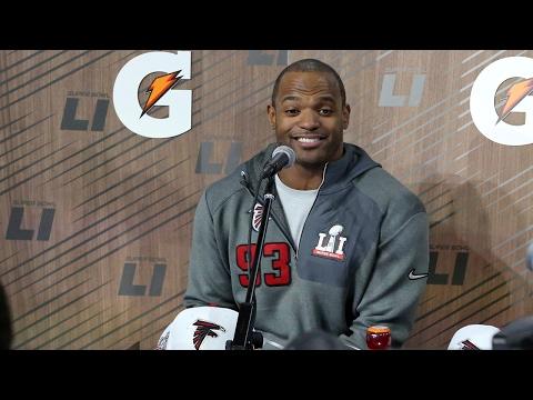 "PFW Pressers ""Super Bowl LI"": Atlanta Falcons DE Dwight Freeney"