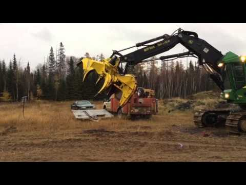 Logging Machinery Maintenance And Demonstration
