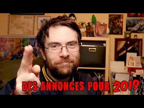 Nouvelle année 2019 et Annonces !