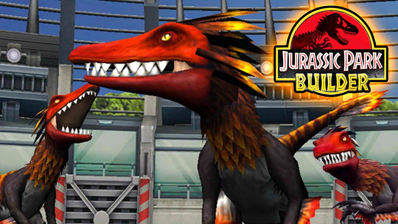 utahraptor jurassic park builder jurassic dna