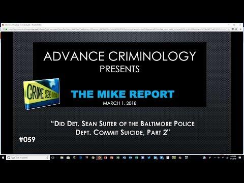 Did Detective Suiter Commit Suicide, Part 2?