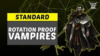 Rotation Proof BW Vampires Core Set 2019 Standard Deck Tech and Gameplay