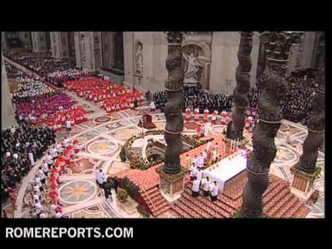 Benedict XVI creates 24 new cardinals