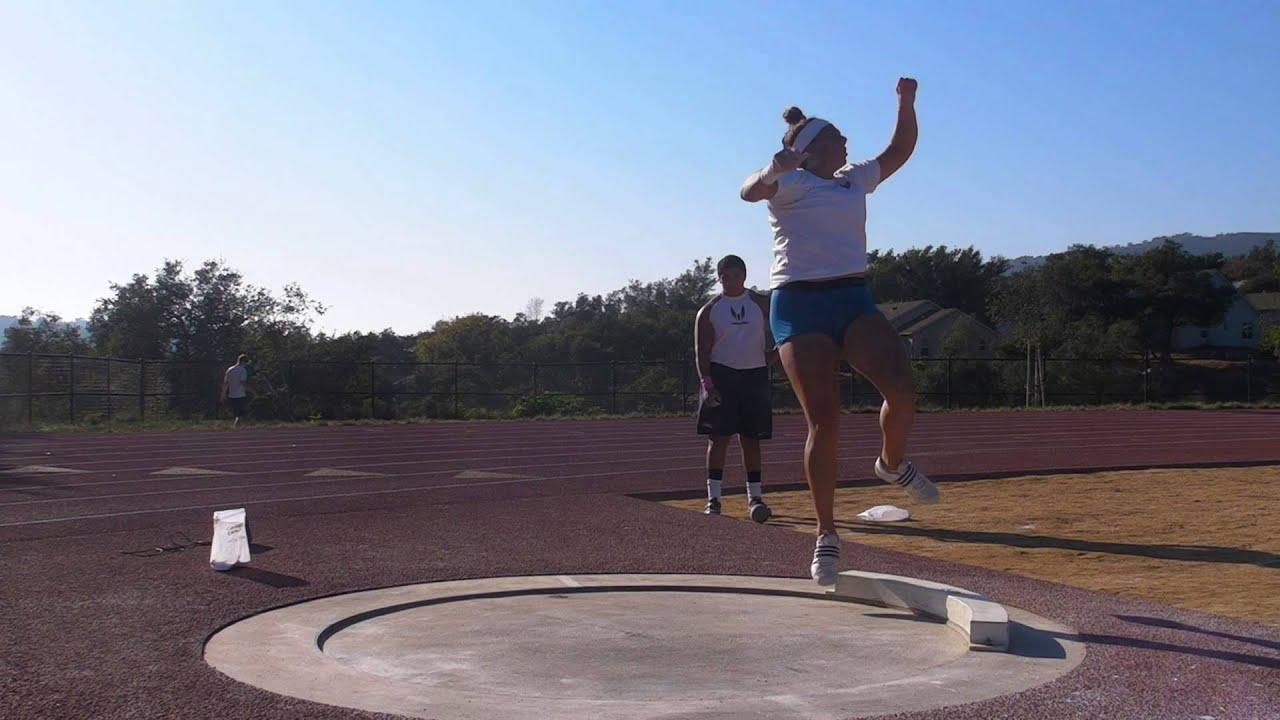 "Stamatia Scarvelis 53' 9"" Westmont College Workout 10/21 ..."
