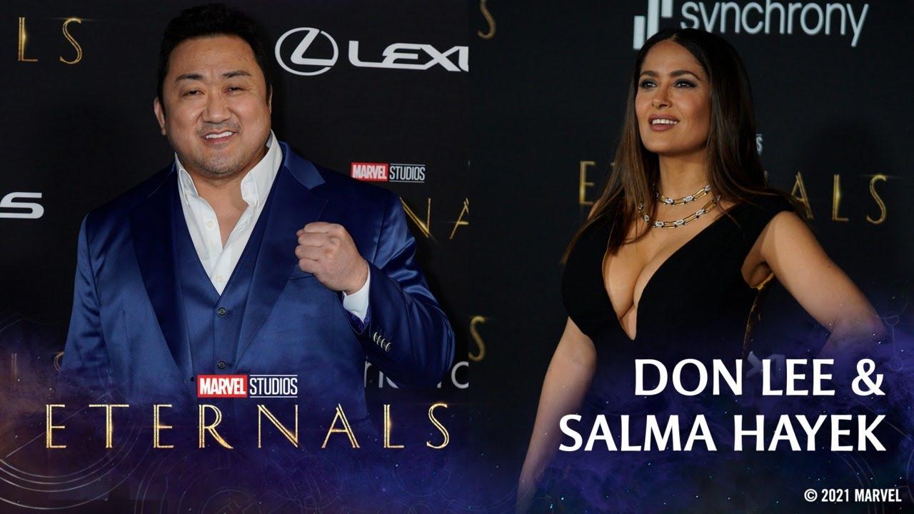 Salma Hayek & Don Lee's Unstoppable Energy   Marvel Studios' Eternals