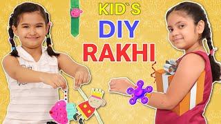 Rakhi Chor BHAI - DIY RAKHI at Home   ToyStars