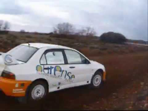 Test RMC Lancer evo IX Nacional Tierra