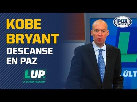 La Última Palabra dedica su entrada en memoria de Kobe Bryant