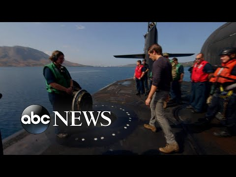 Exclusive look inside a nuclear-powered guided missile submarine l ABC News