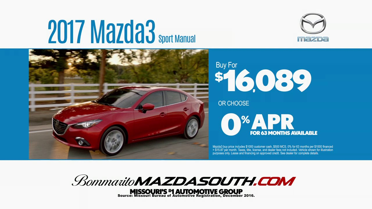 Mazda3 | St Louis Mazda Dealer | Bommarito Mazda South