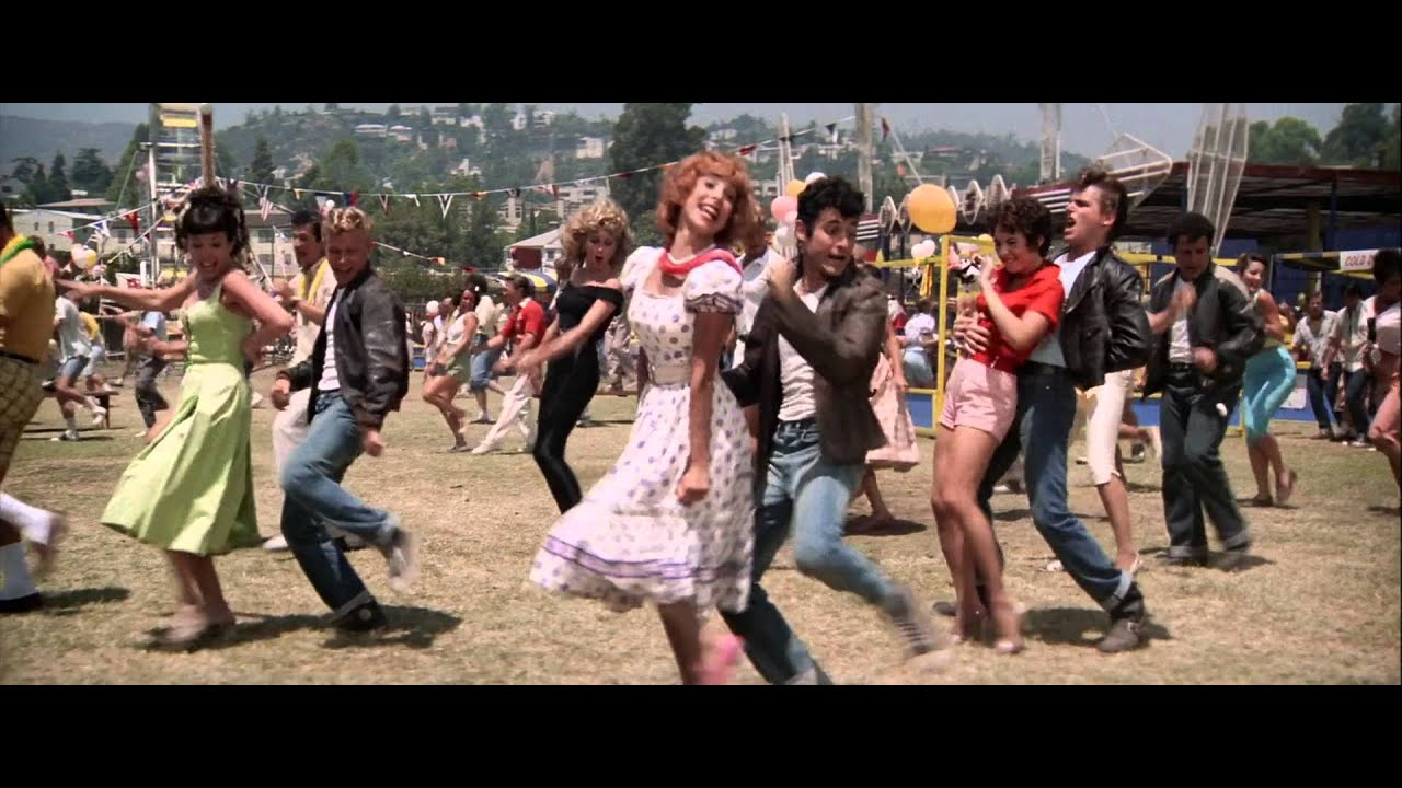 Grease (1978) We Go Together - YouTube