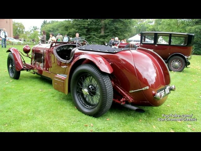 Alfa Romeo 8C 2300 Le Mans - Loud sounds!! 1080p HD